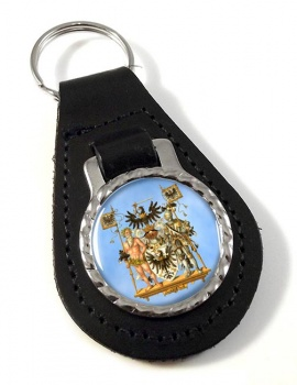 Westpreussen (Germany) Leather Key Fob