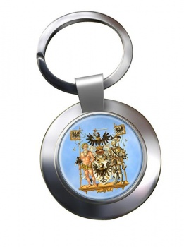 Westpreussen (Germany) Metal Key Ring