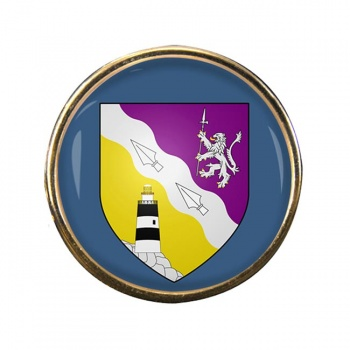 County Wexford (Ireland) Round Pin Badge