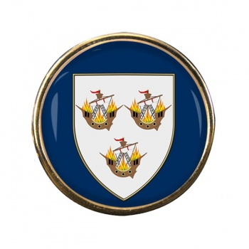 Wexford Town (Ireland) Round Pin Badge