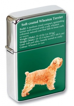 Wheaten Terrier Flip Top Lighter