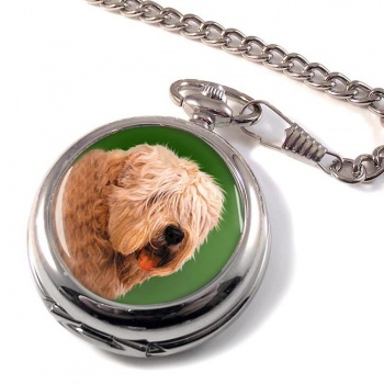 Wheaten Terrier Pocket Watch
