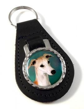 Whippet Leather Key Fob
