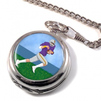 Wide Receiver Pocket Watch