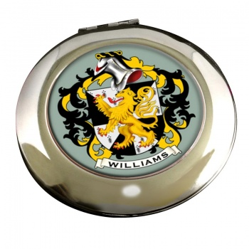 Williams Coat of Arms Chrome Mirror