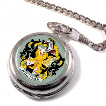 Williams Coat of Arms Pocket Watch