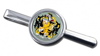 Williams Coat of Arms Round Tie Clip