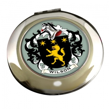 Wilson Coat of Arms Chrome Mirror
