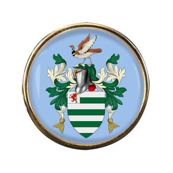 Wiltshire (England) Round Pin Badge