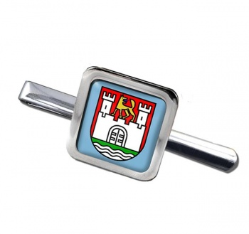 Wolfsburg (Germany) Square Tie Clip