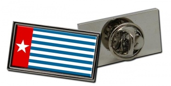 West Papua Flag Pin Badge