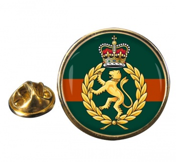 Women's Royal Army Corps Round Pin Badge