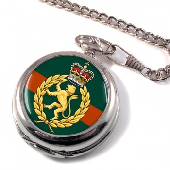 Women's Royal Army Corps Pocket Watch