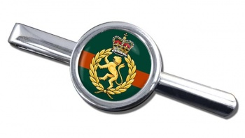 Women's Royal Army Corps Round Tie Clip