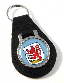Wuppertal (Germany) Leather Key Fob