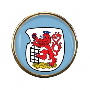 Wuppertal (Germany) Round Pin Badge