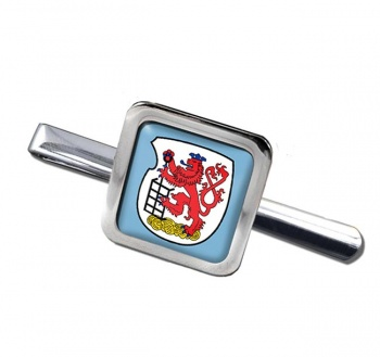 Wuppertal (Germany) Square Tie Clip