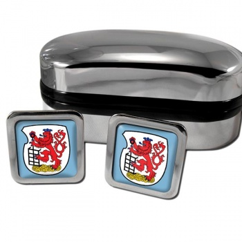 Wuppertal Germany Square Cufflinks