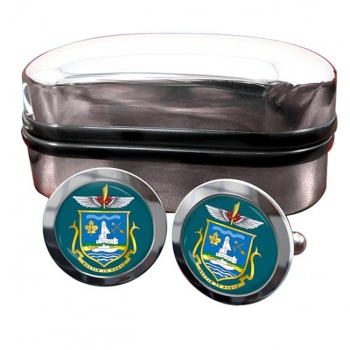 Yellowknife (Canada) Crest Cufflinks