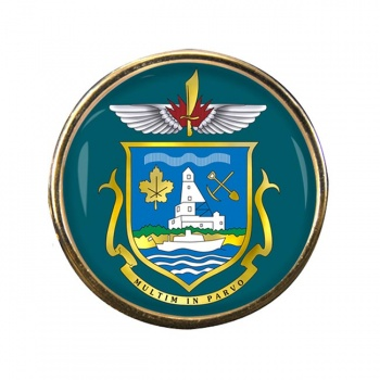 Yellowknife (Canada) Round Pin Badge