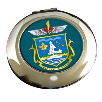 Yellowknife (Canada) Round Mirror