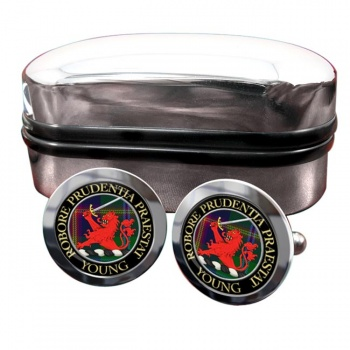 Young Scottish Clan Round Cufflinks