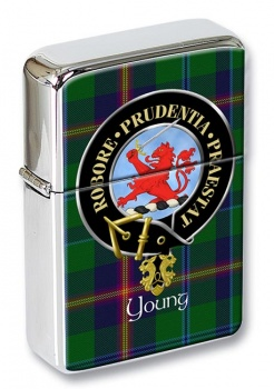 Young Scottish Clan Flip Top Lighter