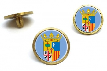 Zaragoza (Spain) Golf Ball Marker