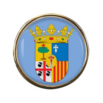 Zaragoza (Spain) Round Pin Badge