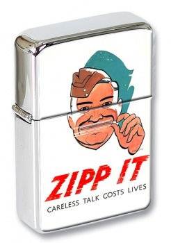 Zipp-it Wartime Poster Flip Top Lighter