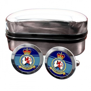 No. 102 Squadron (Royal Air Force) Round Cufflinks