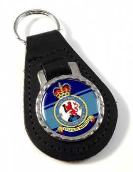 No. 102 Squadron (Royal Air Force) Leather Key Fob