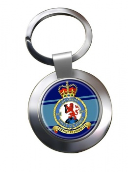 No. 102 Squadron (Royal Air Force) Chrome Key Ring