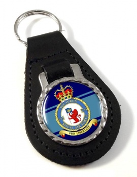 No. 106 Squadron (Royal Air Force) Leather Key Fob