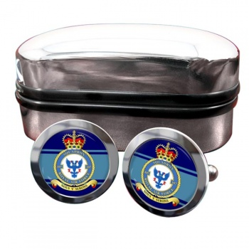 No. 107 Squadron (Royal Air Force) Round Cufflinks