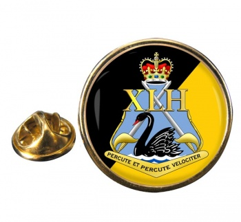 10th Light Horse Regiment (Australian Army) Round Pin Badge