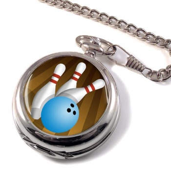 10 Pin Bowling Pocket Watch