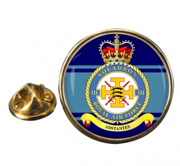 No. 111 Squadron (Royal Air Force) Round Pin Badge