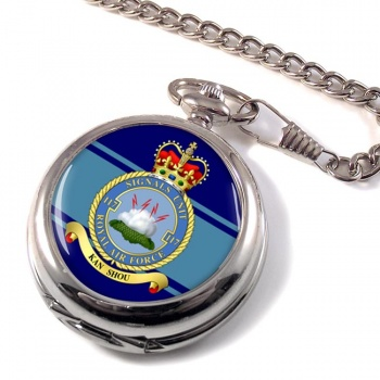 No. 117 Signals Unit (Royal Air Force) Pocket Watch