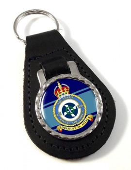 No. 126 Squadron (Royal Air Force) Leather Key Fob