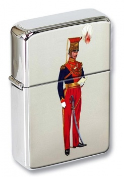 Officer 12th Lancers 1820 Flip Top Lighter
