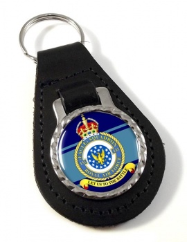 No. 133 Eagle Squadron (Royal Air Force) Leather Key Fob