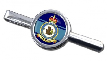 No. 136 Squadron (Royal Air Force) Round Tie Clip