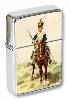 13th Light Dragoons 1814 Flip Top Lighter