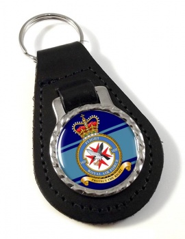 No. 1435 Flight (Royal Air Force) Leather Key Fob