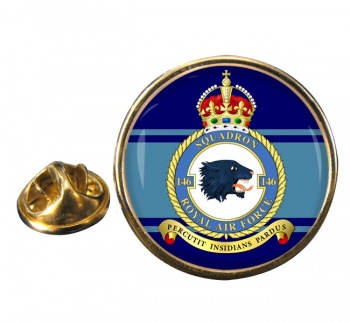 No. 146 Squadron (Royal Air Force) Round Pin Badge