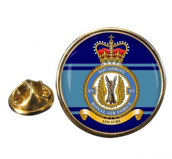 No. 15 Squadron (Royal Air Force) Round Pin Badge