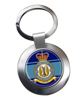 No. 15 Squadron (Royal Air Force) Chrome Key Ring