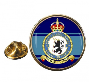 No. 16 Group Headquarters (Royal Air Force) Round Pin Badge