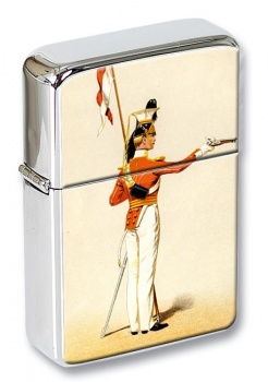 17th Lancers 1832 Flip Top Lighter